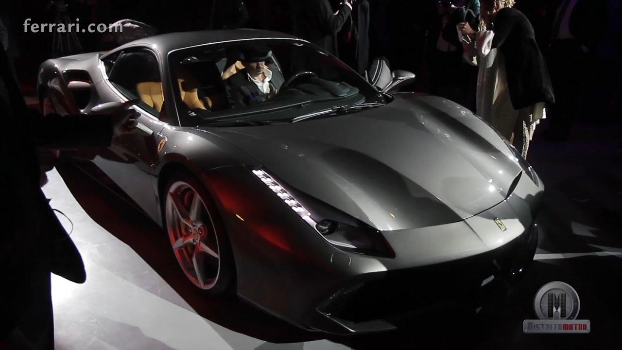 ferrari 488 gtb at maranello - Ferrari 488 Gtb Black