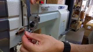 Techsew 830 industrial sewing machine - threading