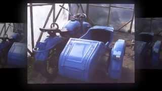 Тюнинг, ремонт и покраска мотоцикла ,,Урал,,(Ну здесь просто сделали из ржавого мотоцикла - новый. Атбасарский район. Вопросы и советы пишите в комментар..., 2014-08-05T17:05:46.000Z)