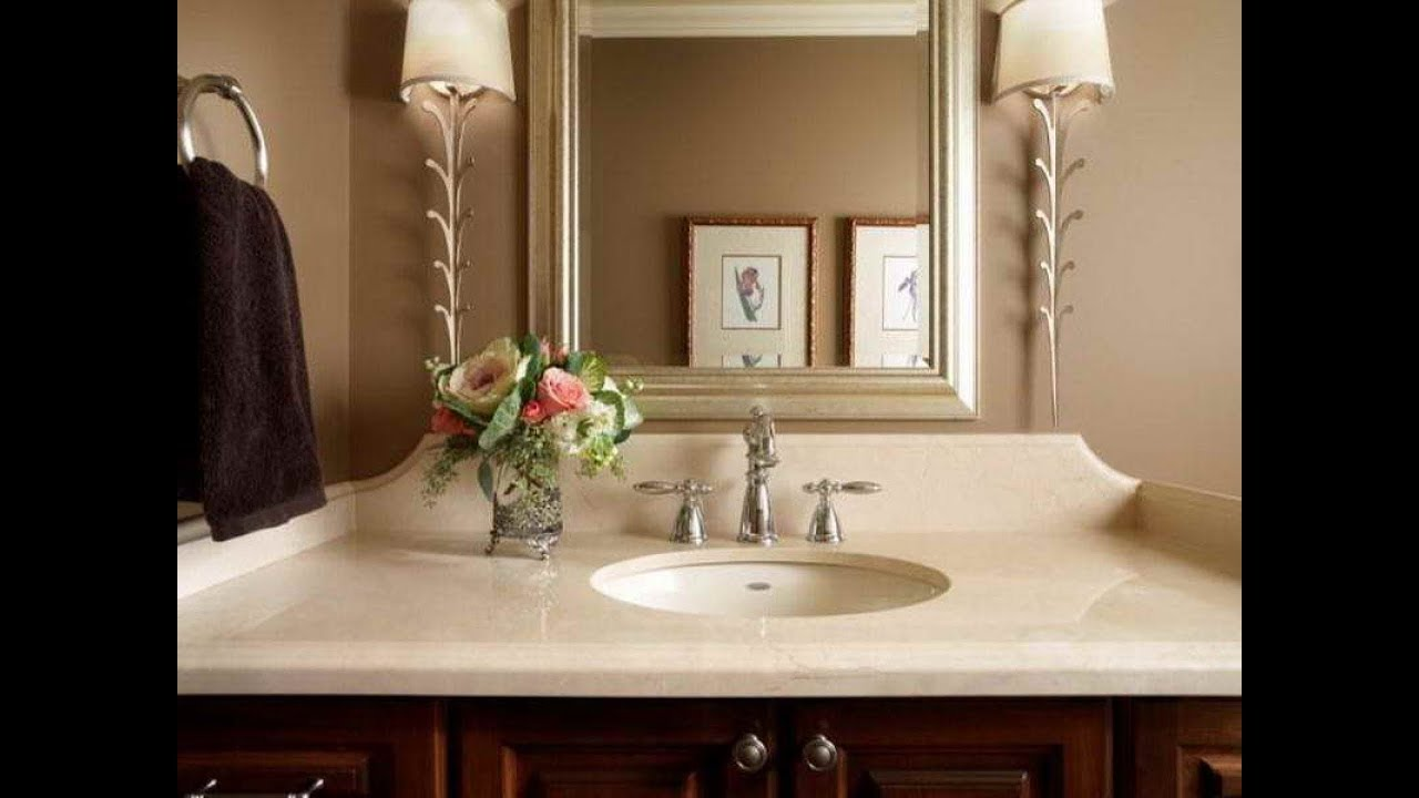 Creative powder room decorating ideas 2019 small modern - Small powder room decorating ideas ...