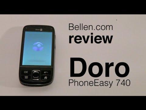 Doro PhoneEasy 740 - Bellen.com Review