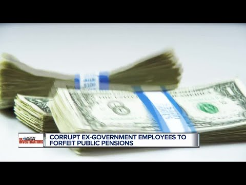 Corrupt government employees to forfeit public pensions