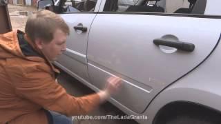видео Дверные молдинги, защитные пластиковые накладки на задние бамперы / Door mouldings, protective plastic pads on a rear bumpers / для SKODA