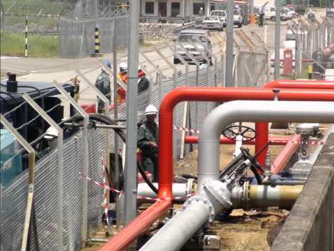 In Memories .. PST & MLNG pipeline upgrading bunkering facilities project.