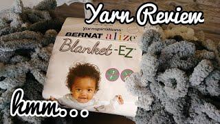 Bernat alize Blanket-EZ - Yarn Review