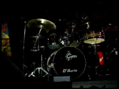 Gretsch Drums - Oscar D'Auria on Clinic - Argentina