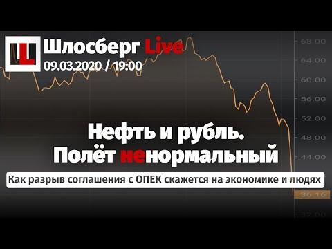 Нефть и рубль. Менять ли деньги? Суд по делу MH17. Коронавирус и кризис. Орден Сечину / Шлосберг