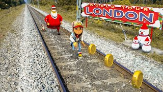 Subway Surfers London In Real Life - 4K