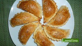 Аргентинские пирожки ЭМПАНАДАС с ветчиной и сыром.