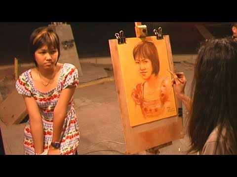 THAILAND Bangkok Artists ТАИЛАНД Бангкок Художники ศิลปิน 芸術家 的艺术家 가 الفنانين Künstler कलाकारों