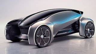 Jaguar Future Type Premium On Demand Concept Car смотреть