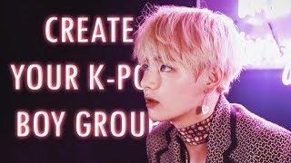 إنشاء الخاصة بك K-POP مجموعة الولد