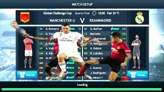 Manchester United vs Real Madrid - Quatar Final - Dream League Soccer 2018