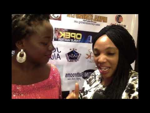 Adeola Orishile of Radio Lagos on red carpet at Moment With JCMC2018