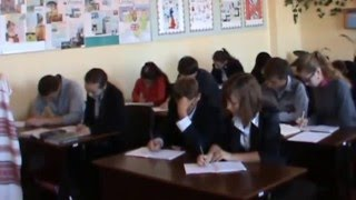 Урок з української літератури