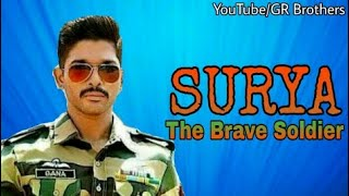 Upcoming Hindi Dubbed Movie 2018 || Surya - The Brave Soldier || Allu Arjun || GR Brothers