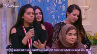 السفيرة عزيزة - مدير الإتحاد الأفريقي للكرة الطائرة ...  لعبة الـ