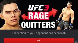 Making People RAGE Quit UFC 3 Online Ranked