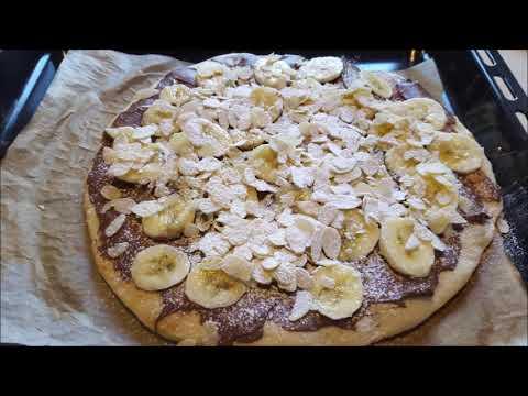 pizza-sucré-banane-nutella