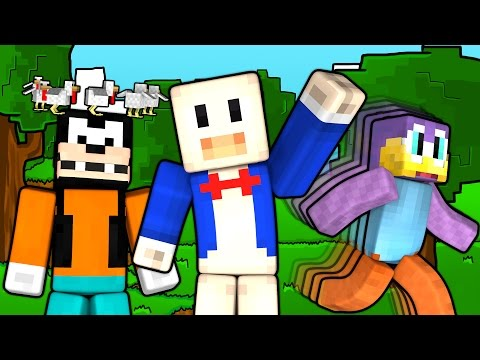 Thumbnail: If Minecraft was a Cartoon