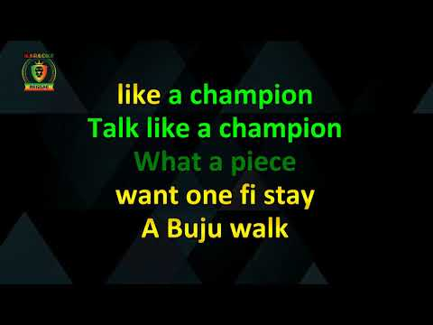 Buju Banton - Champion (With Vocals) (Karaoke Version)