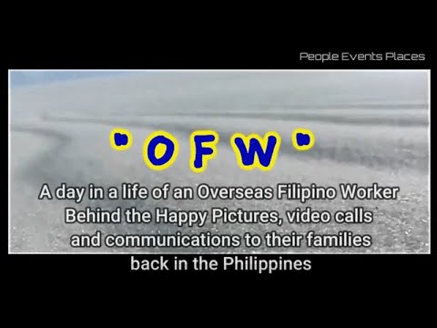 OFW Buhay Abroad  -  A day in a life of an Overseas Filipino Worker