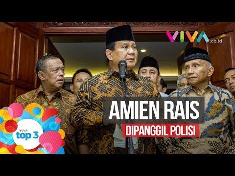 VIVA Top3: Amien Rais Dipanggil Polisi, Jokowi Anti-PKI & RIP Rudy Wowor