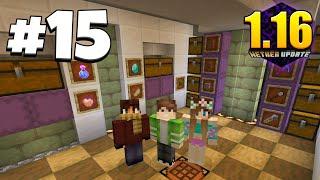 ХАЙ-ТЕК ВЫЖИВАНИЕ 1.16 #15 | СТРОИМ ХАЙ-ТЕК ПОДВАЛ! УГАРНАЯ СЕРИЯ! ВАНИЛЬНОЕ ВЫЖИВАНИЕ В Minecraft