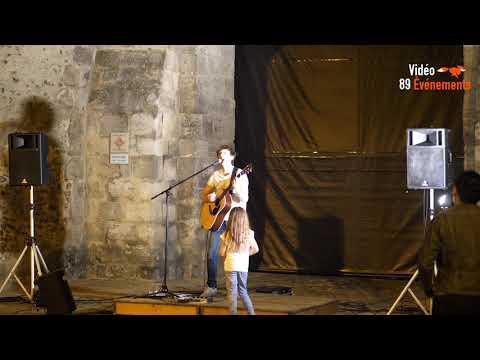 🎥C'était à Villeneuve sur Yonne, Geoffrey en concert 2017