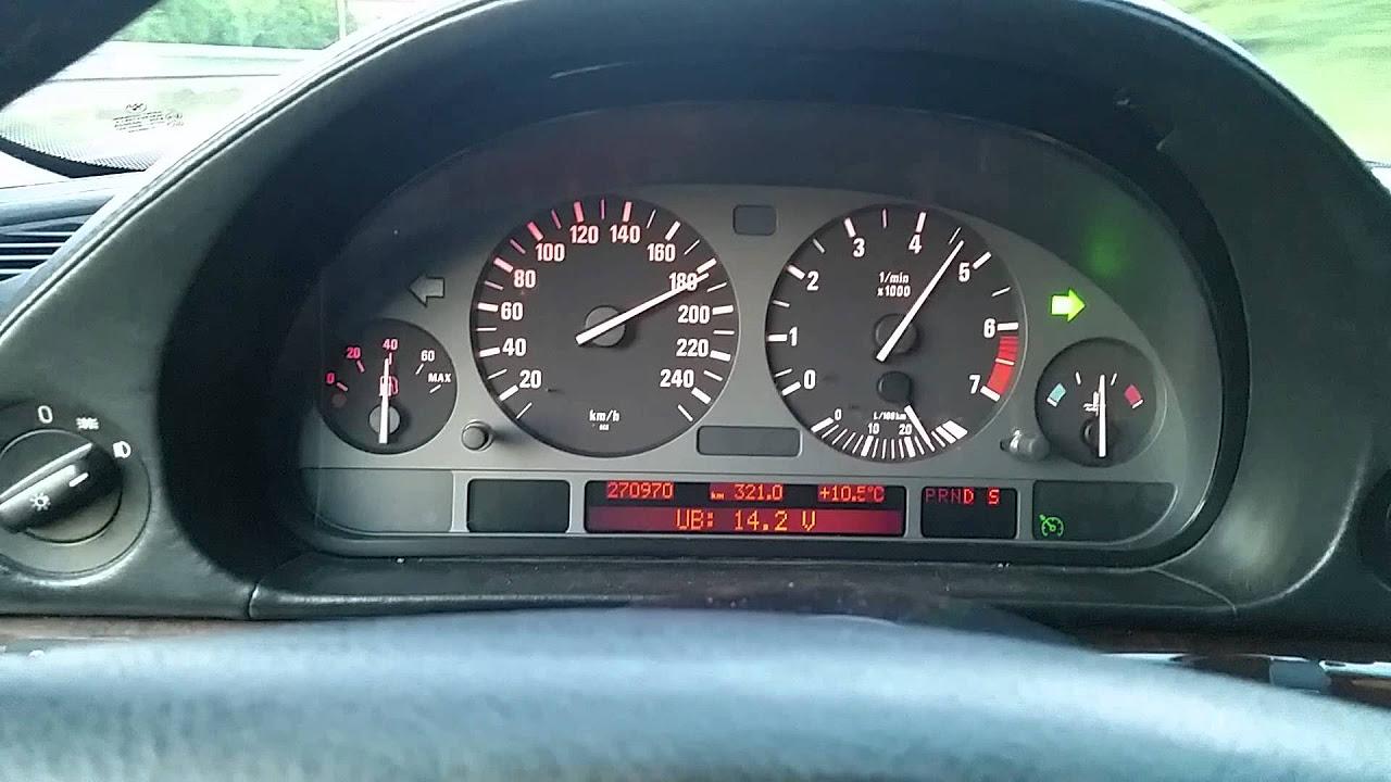 E38 728I 0- 220 Vmax Topspeed