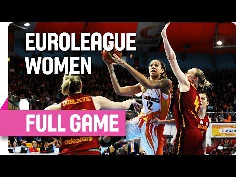 UMMC Ekaterinburg (RUS) v Galatasaray (TUR) - Full - Quarter Final - Game 1 - 2016 EuroLeague Women