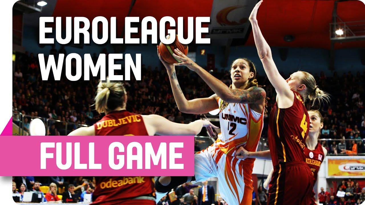 UMMC Ekaterinburg (RUS) v Galatasaray (TUR) - Full - Quarter Final - Game 1  - 2016 EuroLeague Women 7d42612292