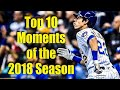 Top 10 Moments of the Milwaukee Brewers 2018 Season