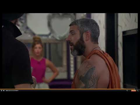 Big Brother 19 W9 Feeds - Matt and Raven React to Jason's Veto Ceremony Part 1