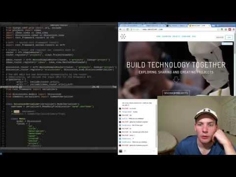 Django Web API livestream