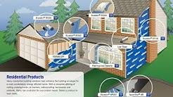 Blueskin VP100: Self-Adhered Water Resistive Air Barrier Membrane