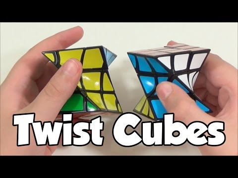 Eitan's FisherTwist and Twist Cube Unboxing + First Impressions | Thecubicle.us