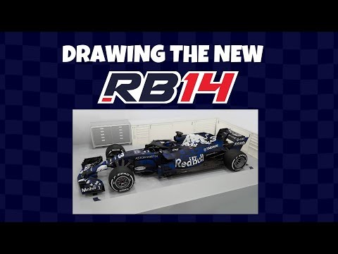 MiniDrivers - Working on the new F1 Red Bull RB14