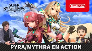Super Smash Bros. Ultimate - Pyra/Mythra en action (Nintendo Switch)