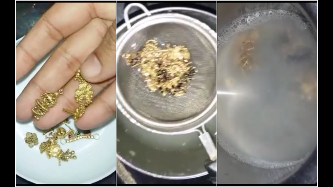 how to clean gold jewelry youtube