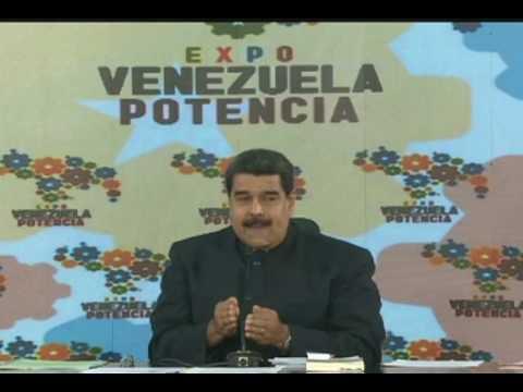 Maduro anuncia nuevo sistema de subastas Dicom a partir de próxima semana