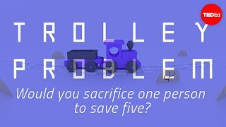 Repeat youtube video Would you sacrifice one person to save five? - Eleanor Nelsen