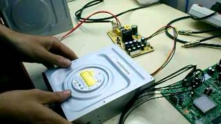 Power supply can not load DVD ROM LG (DH18NS50)