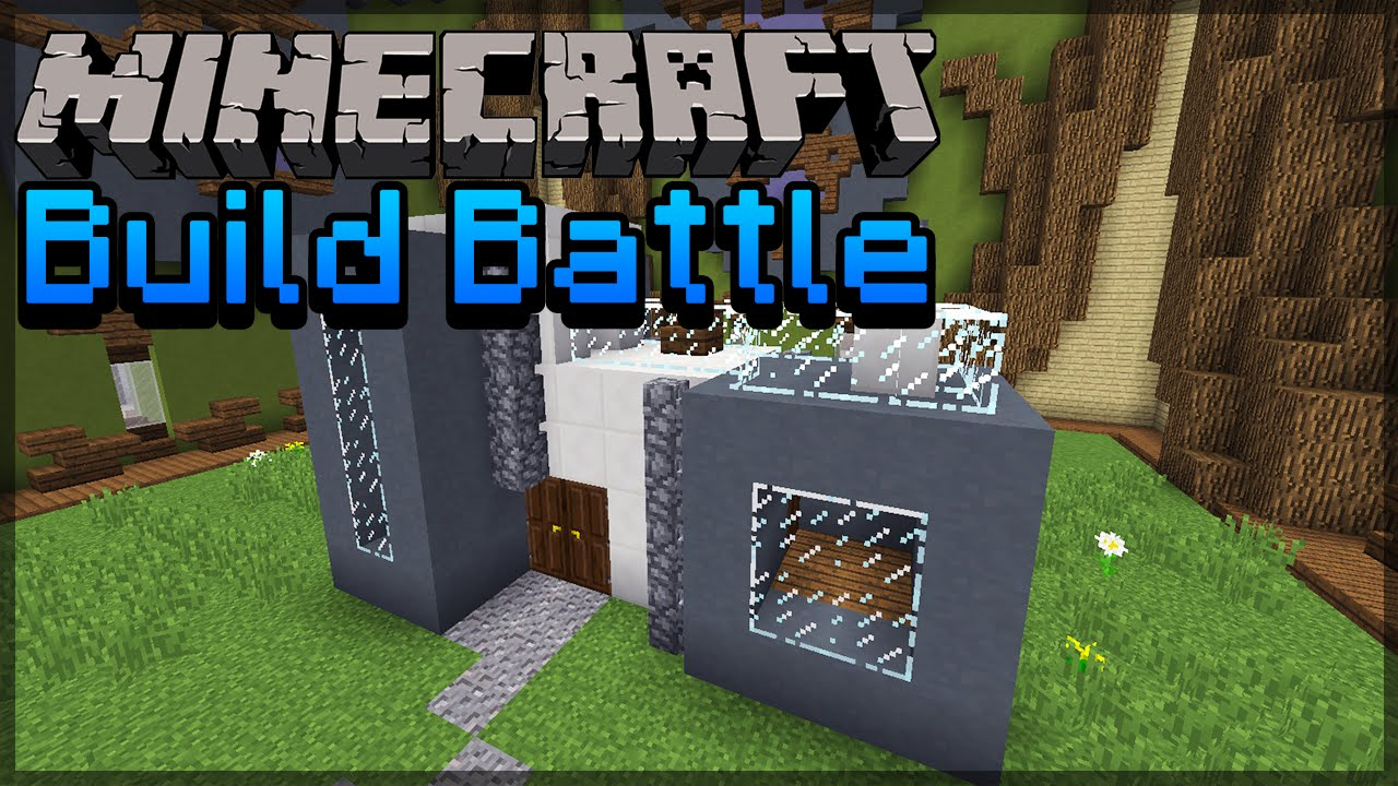 Minecraft build battle mini modern house youtube for Build a modern home for 200k