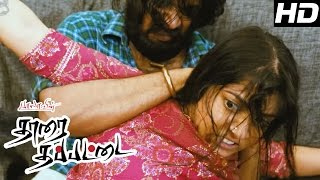 Tharai Thappattai Movie | Scenes | Sasikumar and troupe trying to find a job | Varalaxmi | Sasikumar