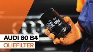 Oliefilter motor AUDI verwijderen - videohandleidingen