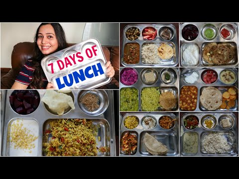 7 Indian Lunch ideas (homemade Thali meals) | Indian Food Recipes