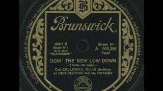 Mills Brothers [+ Cab Calloway] - Doin