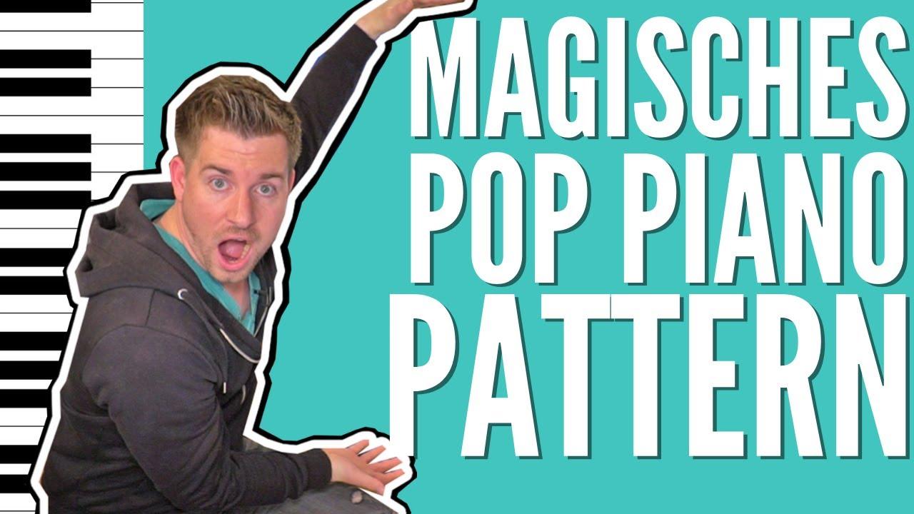 MAGISCHES Pop Piano Pattern