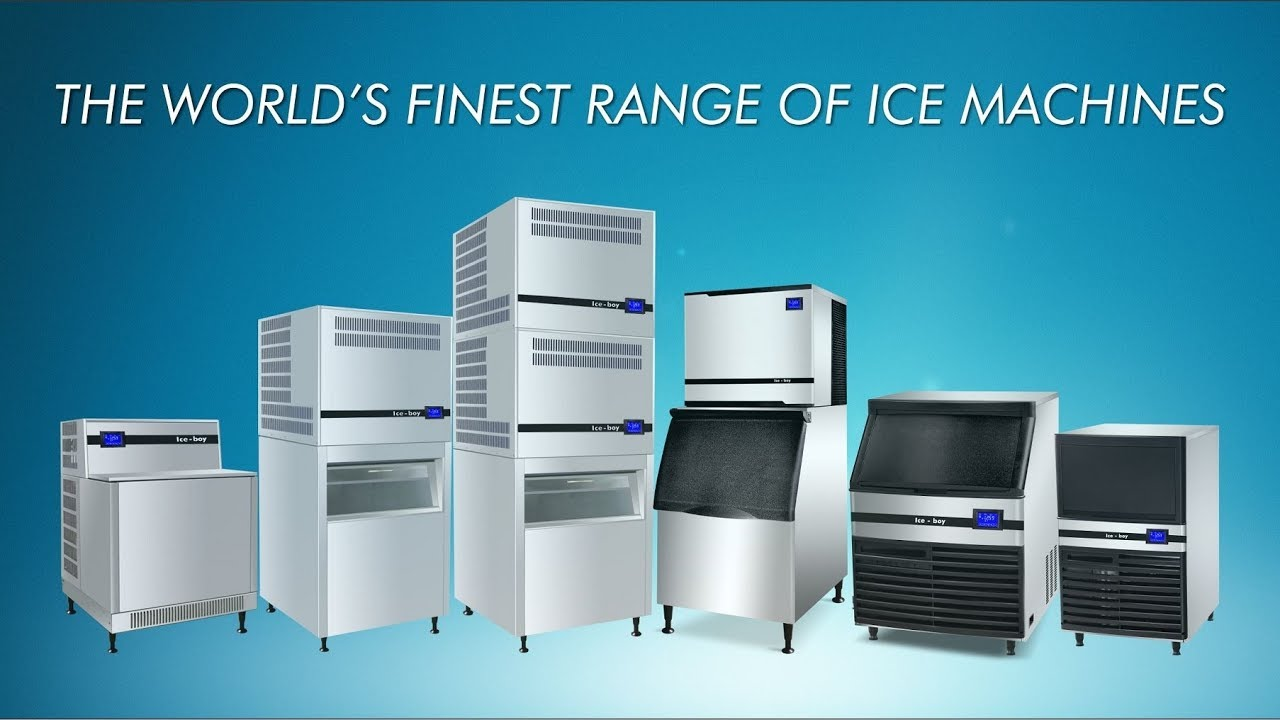 Ice boy | Ice Machines Line Up
